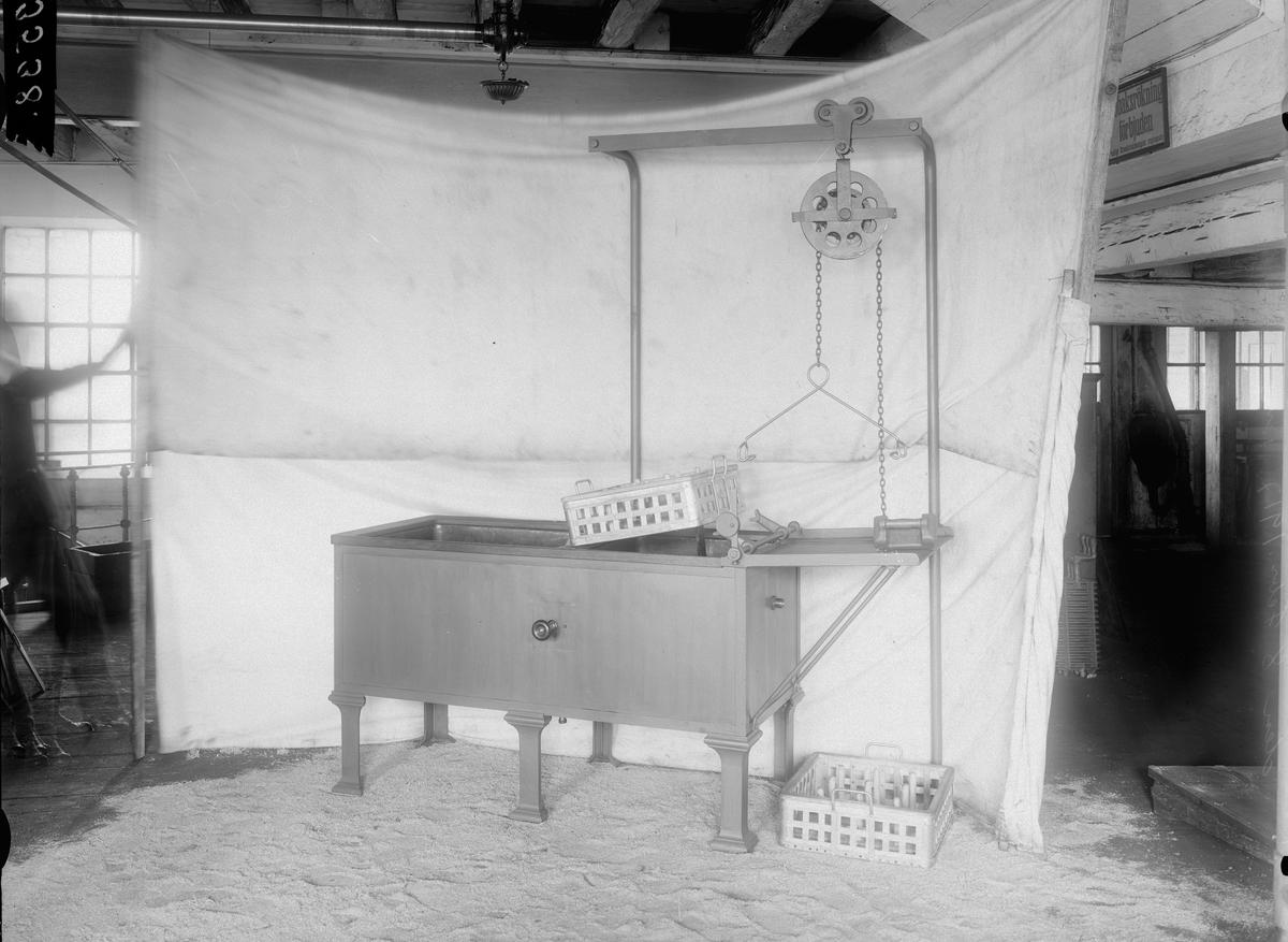 Lyftanordning med korgar 8 februari 1917.