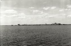 Kalmar Från syd-sydost.  Foto 1944-06-19