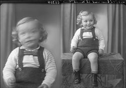 Portrett. Ung gutt. Bestilt av Selmer Underhaug. Langt. 65.