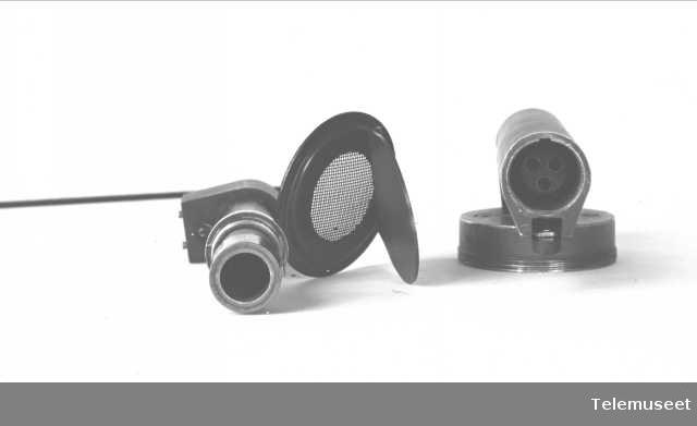 Telefoner, D mrk III, mikrotelefon, sept. 1914. Elektrisk Bureau.