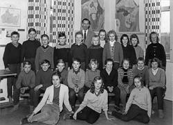 Snärle skola, Klass 5-6 med elever från Bäckseda och Snärle,