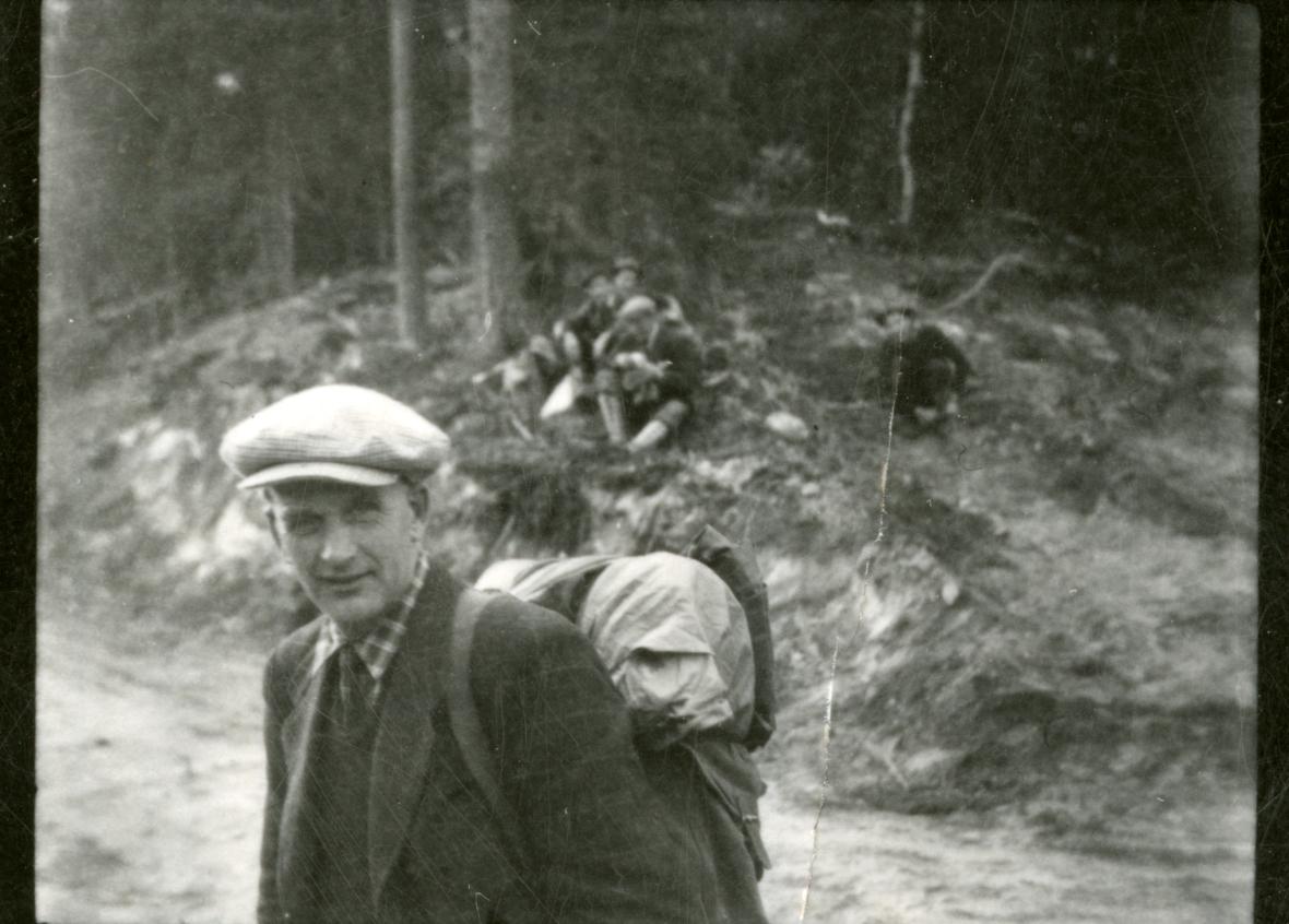 Ådal kommunestyre på tur til Vassfaret.