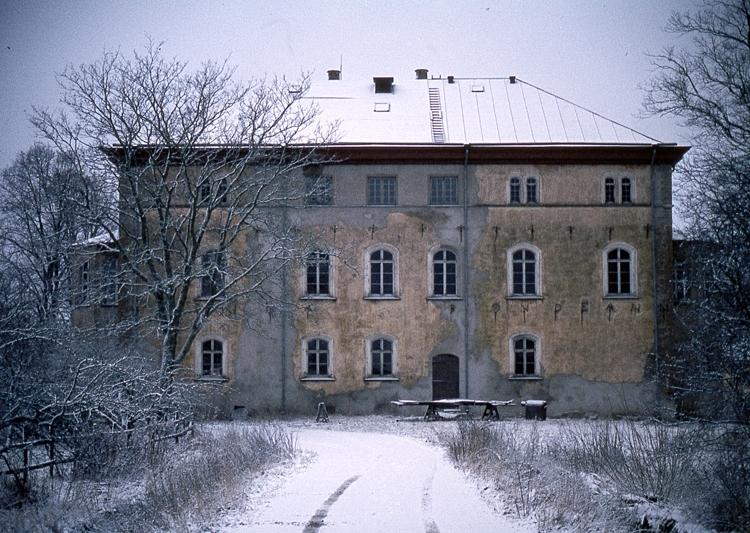 Slottets norra fasad.