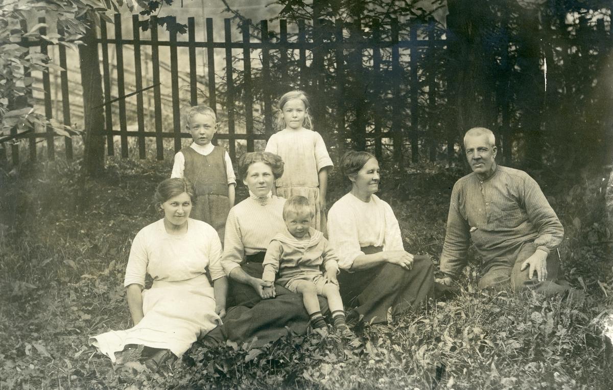 Familien Knutsen.