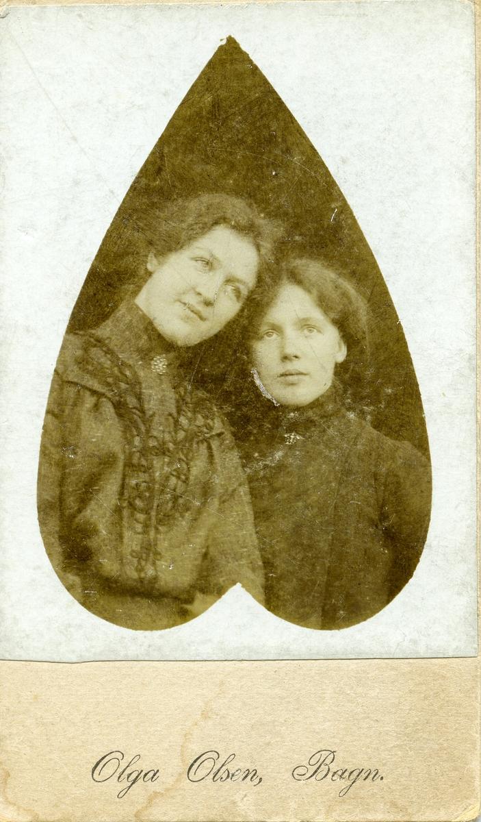 Ragnhild Knutsen og Olga Olsen.