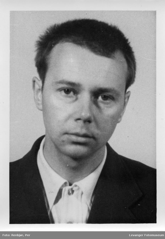 Harry Arnfinn Hofstad, medlem av Rinnanbanden, fotografi tatt i forbindelse med rettsaken.