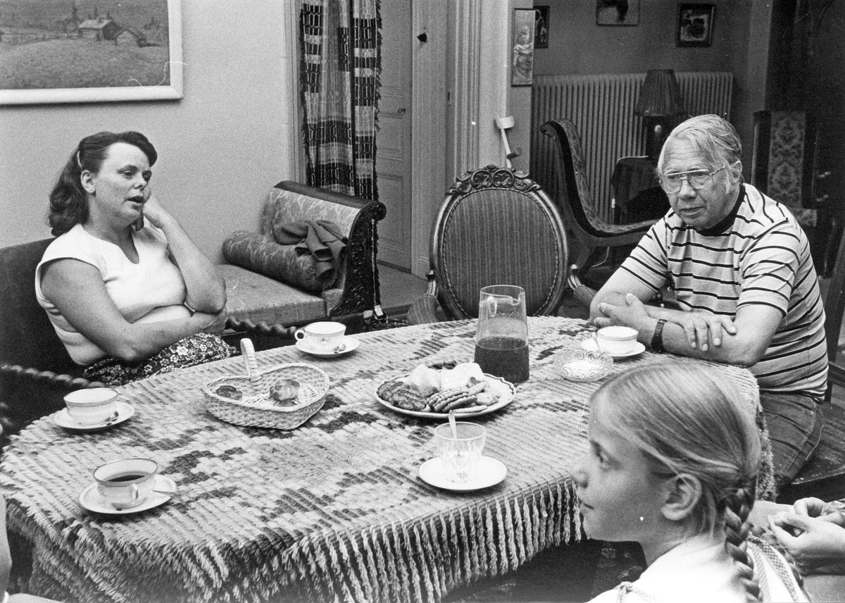 Egon Winemo med familj