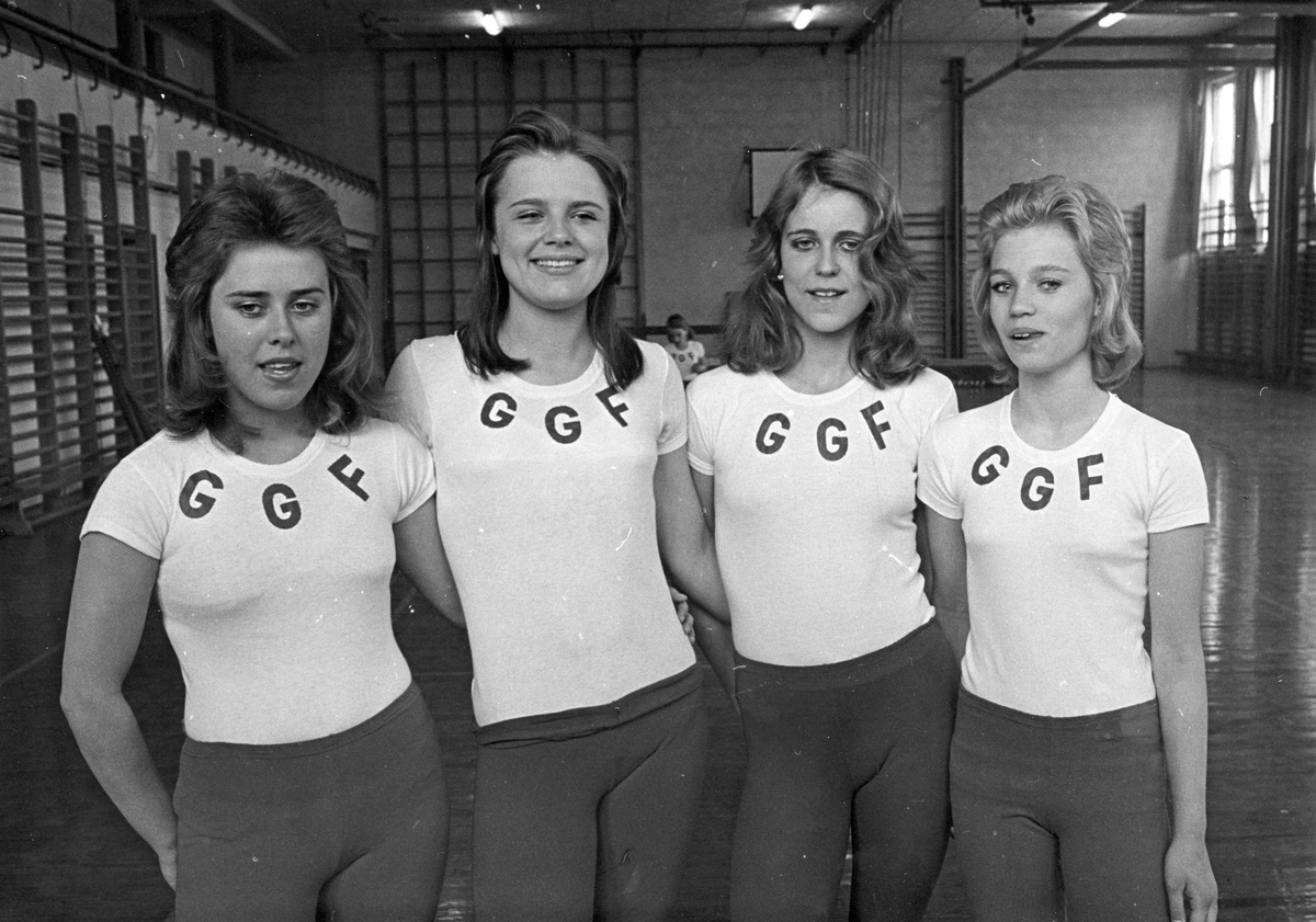 Gefle Gymnastikförening GGF. Gymnaster.