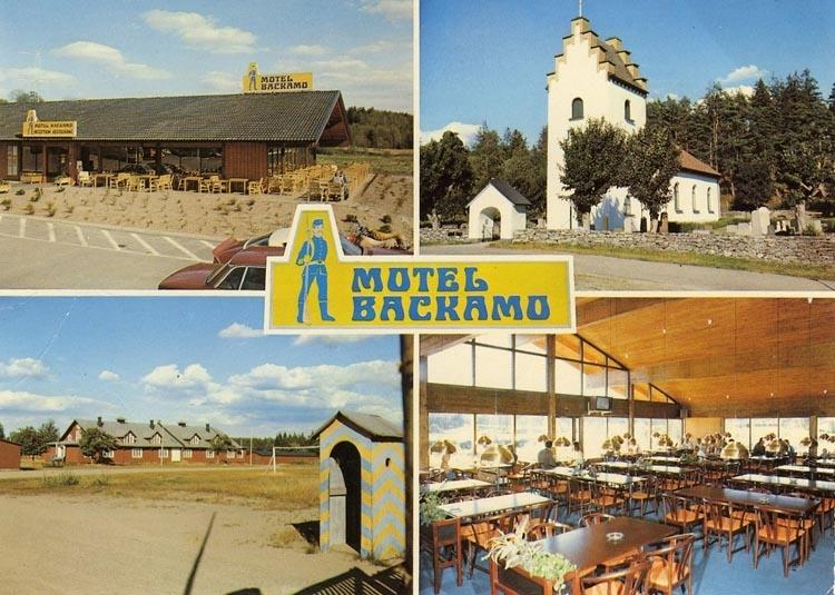 "Enligt Bengt Lundins noteringar: ""Motel Backamo. 4-bild""."