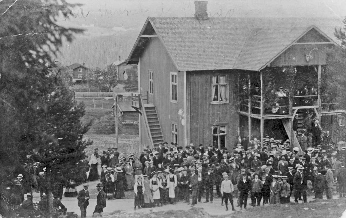 Stevne i Ungdomslaget Breidablik. Øvre Rendalen 1911
