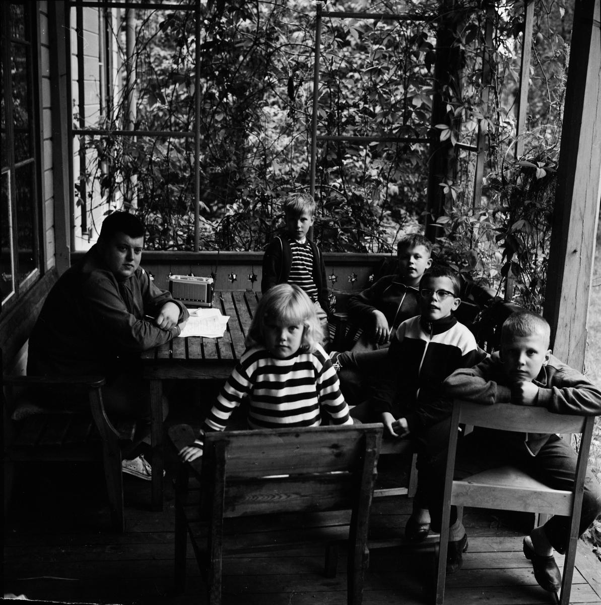 Unga Örnar - sommarläger, Uppsala 1964