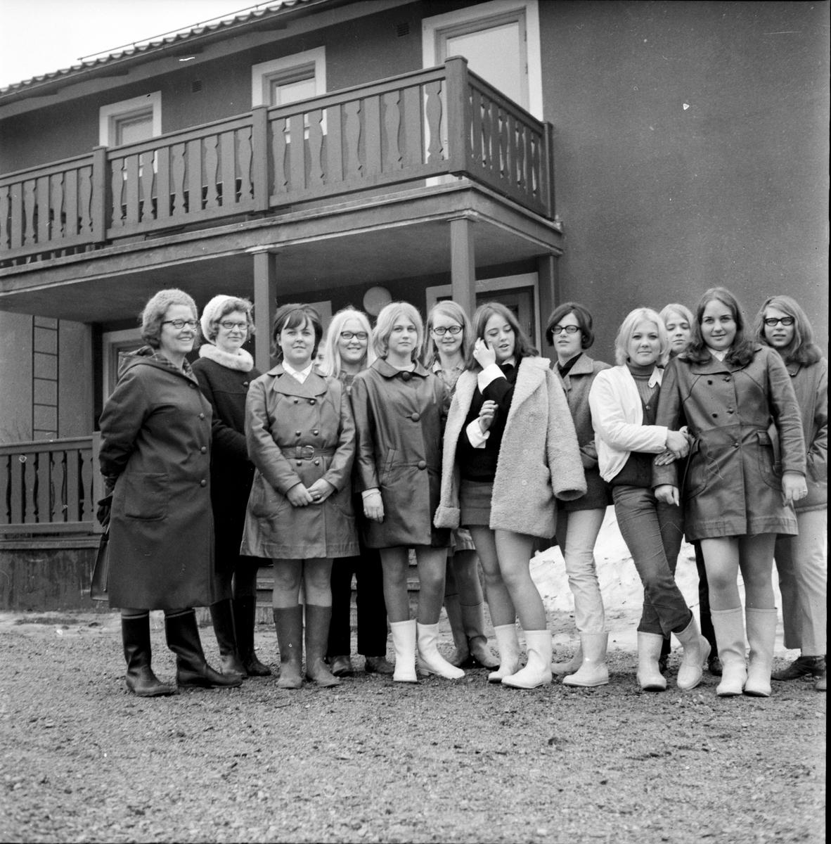 Arbrå, Uppvaktning för de vinnande niorna, April 1969