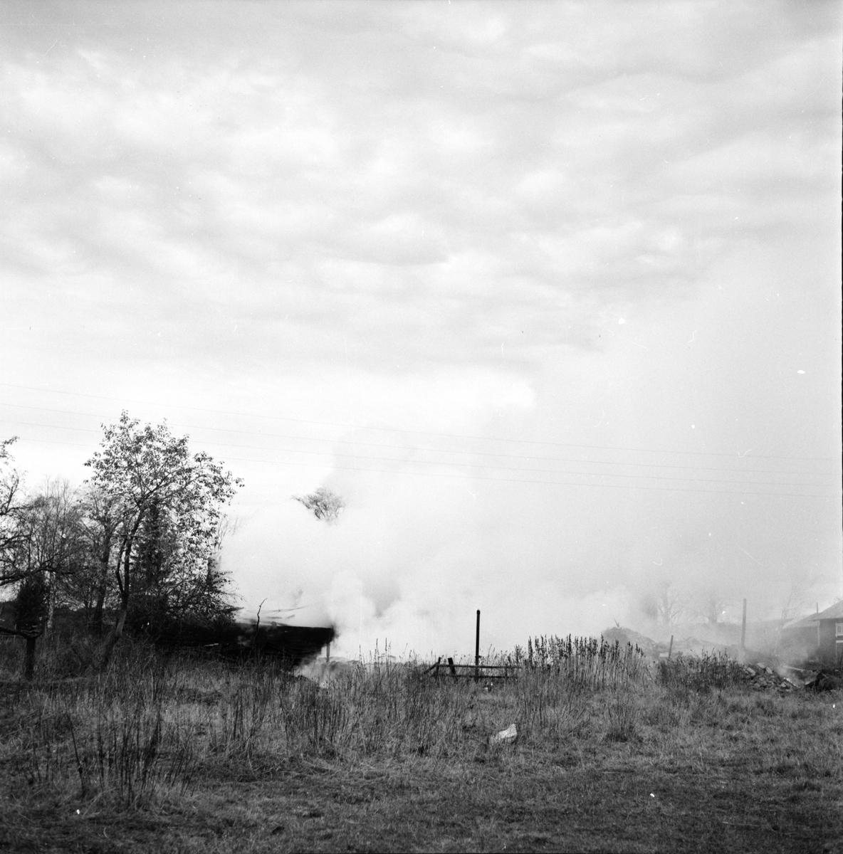 Vallsta, Branden i Per-Erses, Oktober 1971