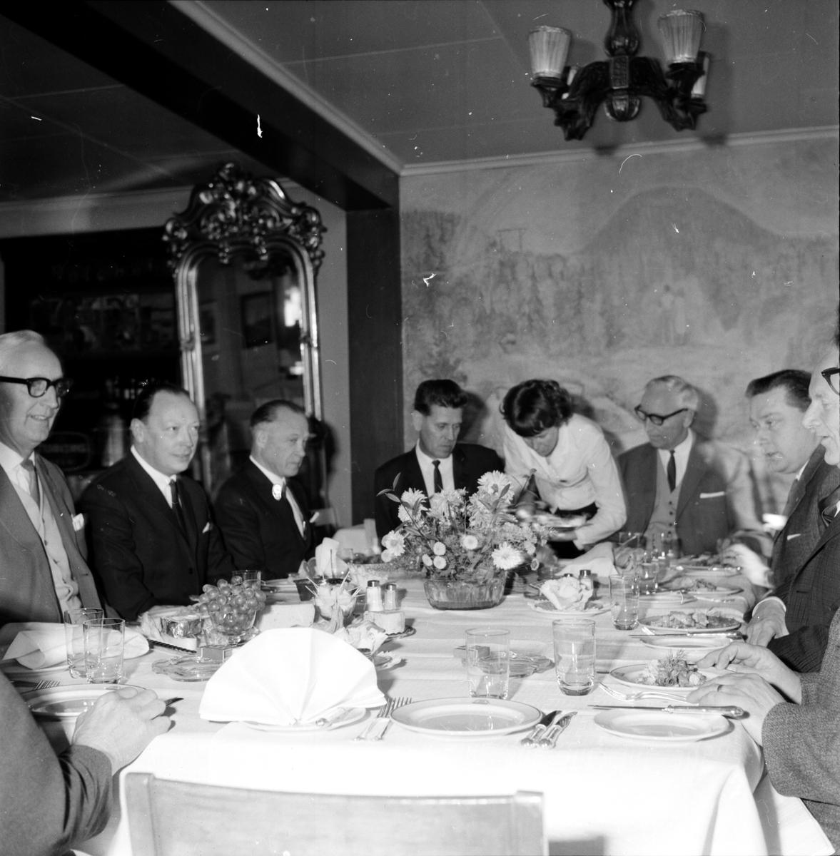 Hedlund Gunnar, på besök i Bollnäs, 25 Okt 1965