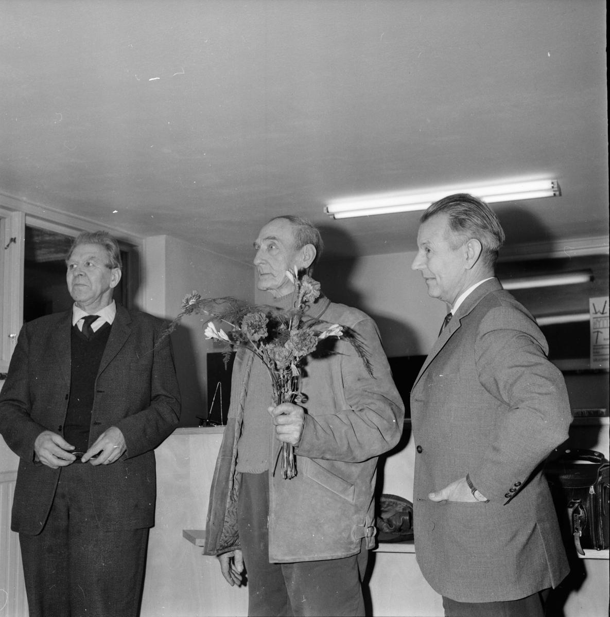 Landafors, Sparbankslokal, Hammarström, T Roine, 8 Jan 1965