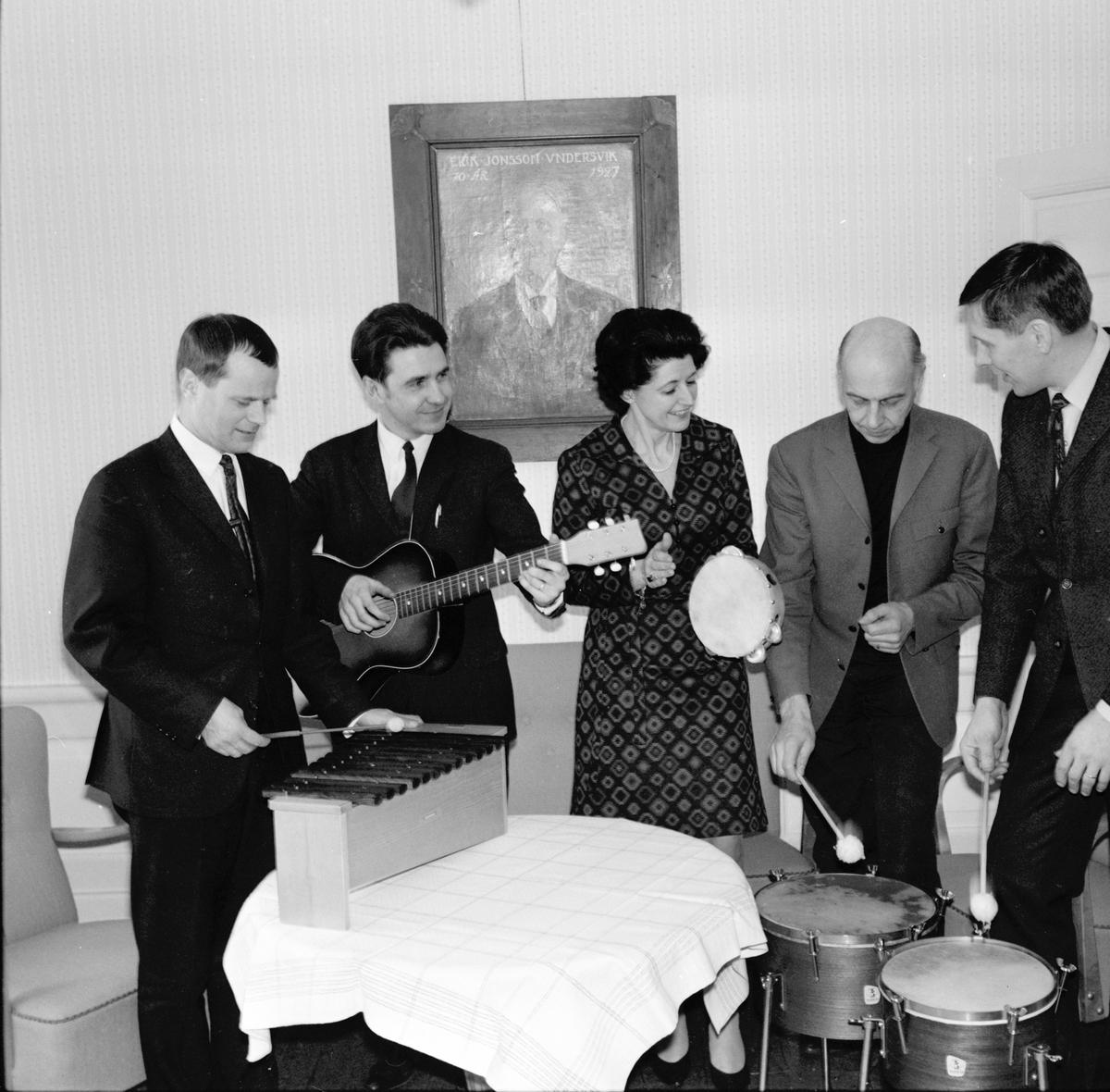 Undersvik, Stiftsgården musikled.konf. Jan 1969
