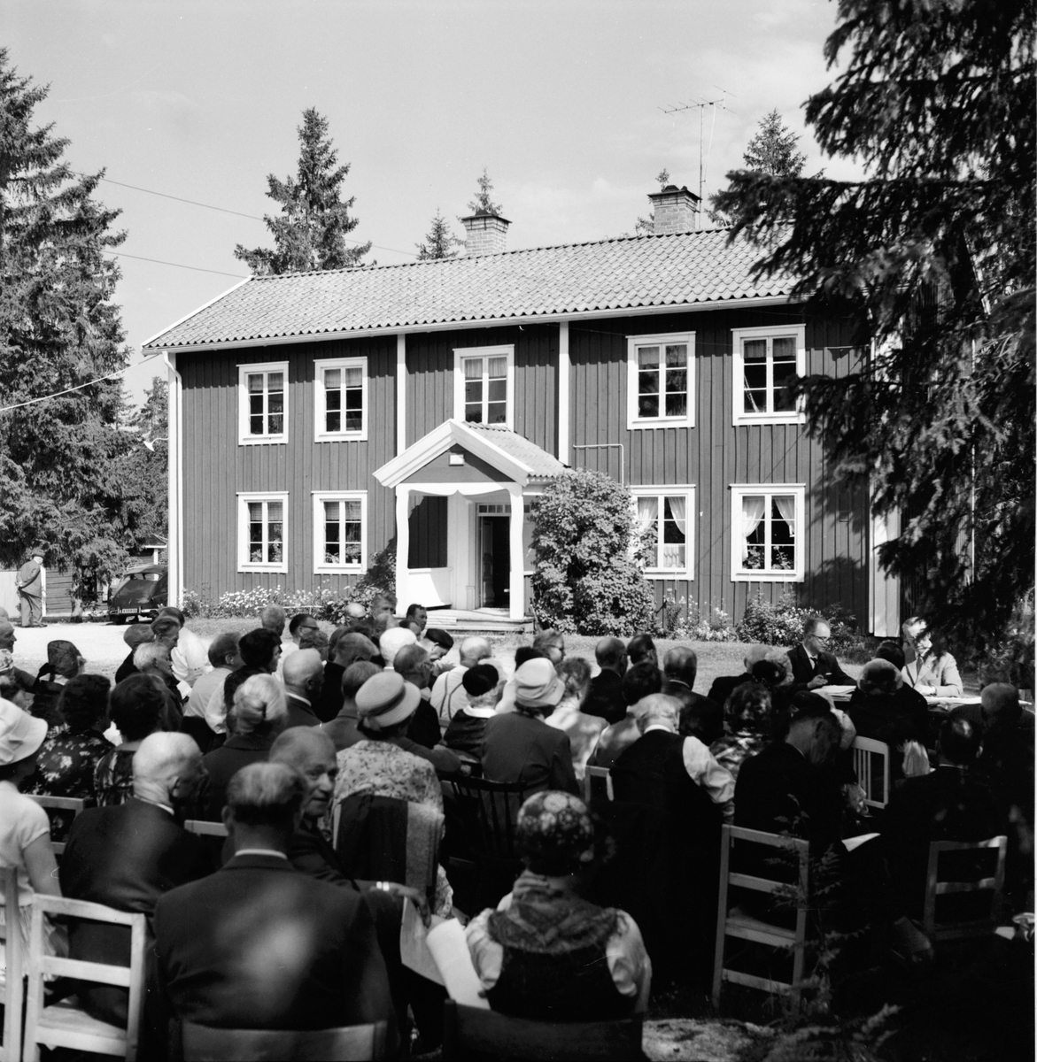 Kretsårsmöte i Gnarp. 20/6-1963