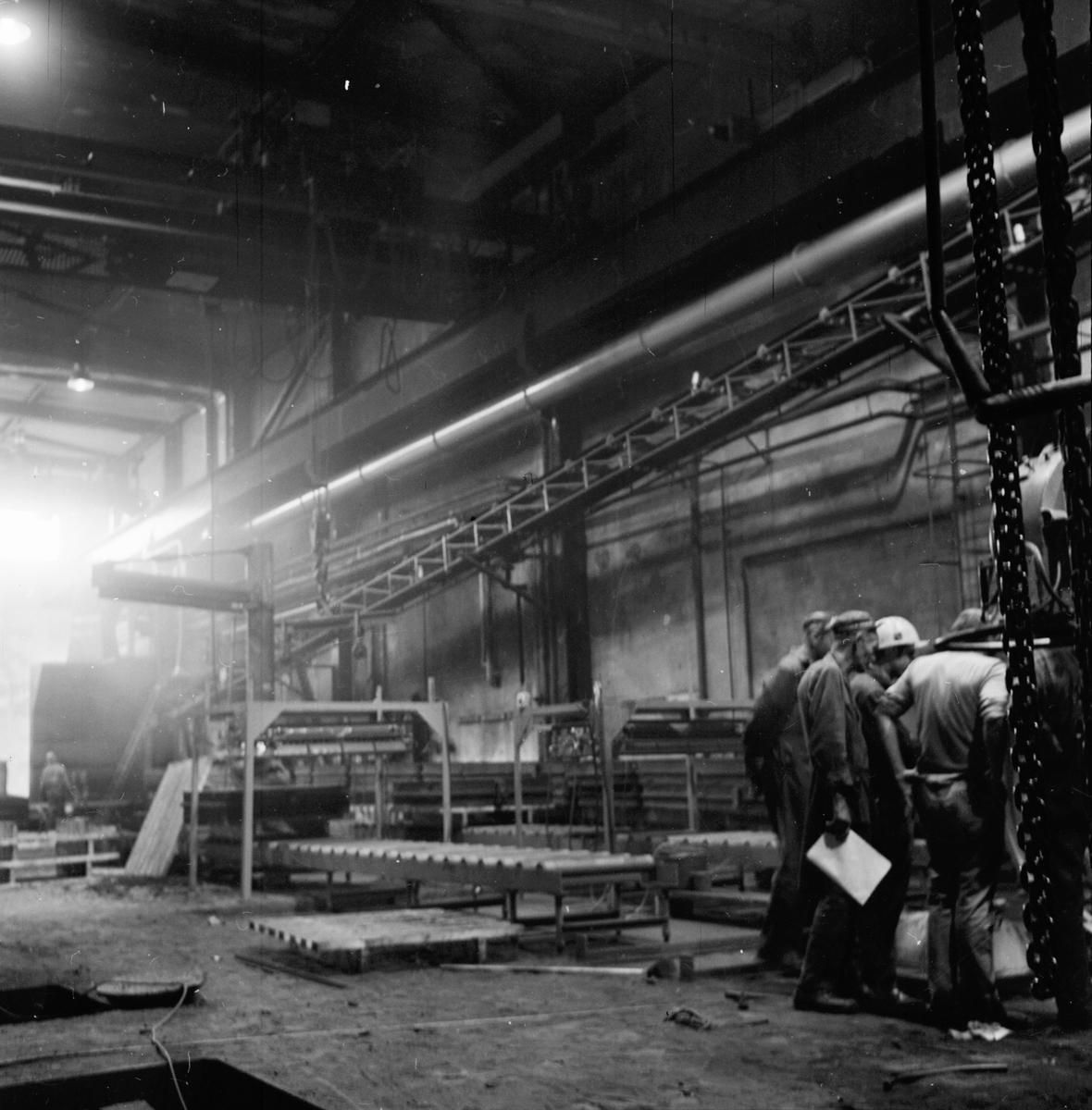Arbrå, Verkstadens nya gjuteri, Aug 1970
