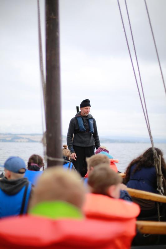 ARKEN viking på Mjøsa