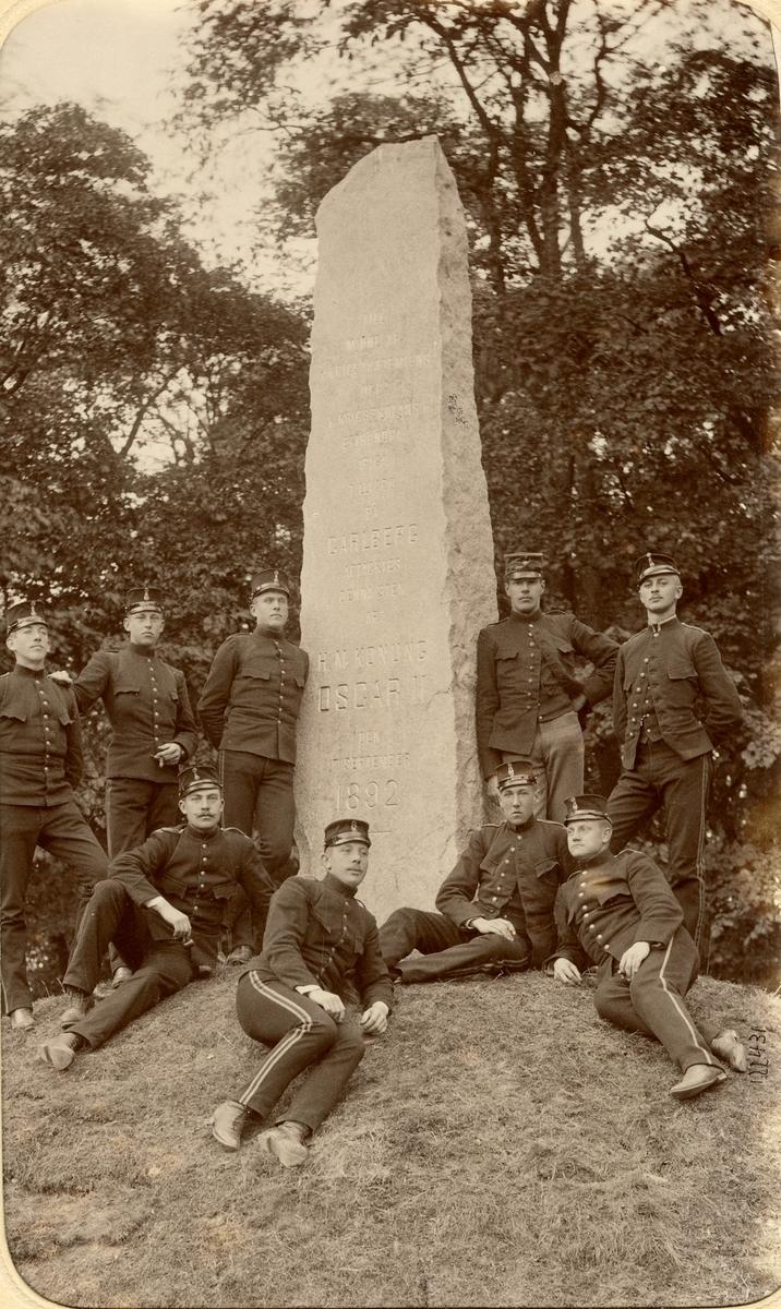 Kadetter vid Krigsskolan Karlberg.
