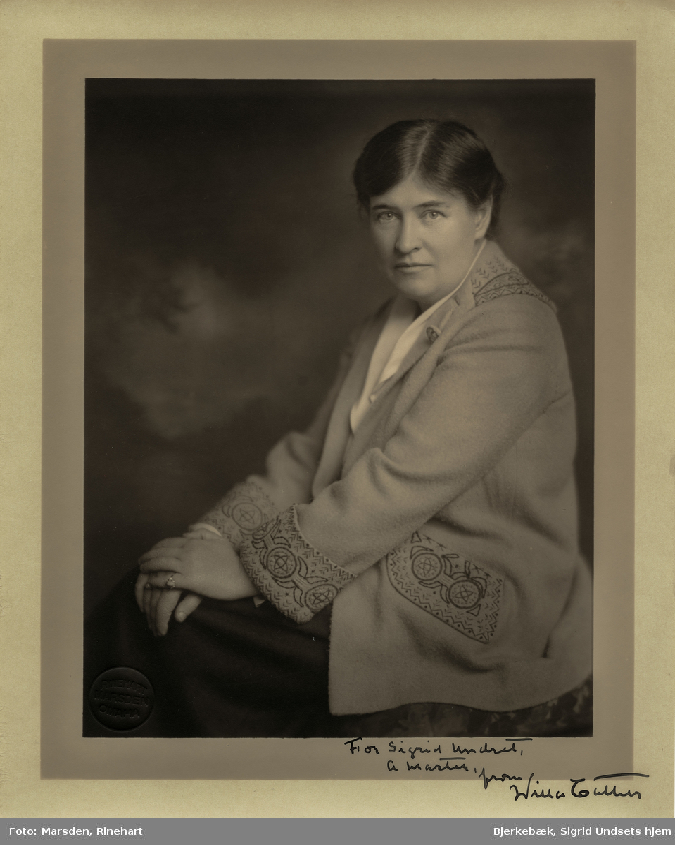 Kvinne, portrett, forfatter