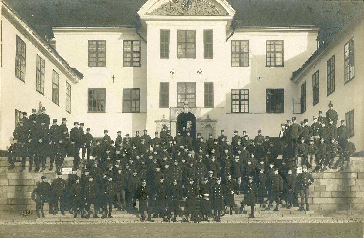 Officerskursen vid Karlberg 1904-1905.