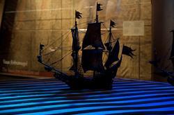 Vasamuseet, Utställning Det seglande skeppet.