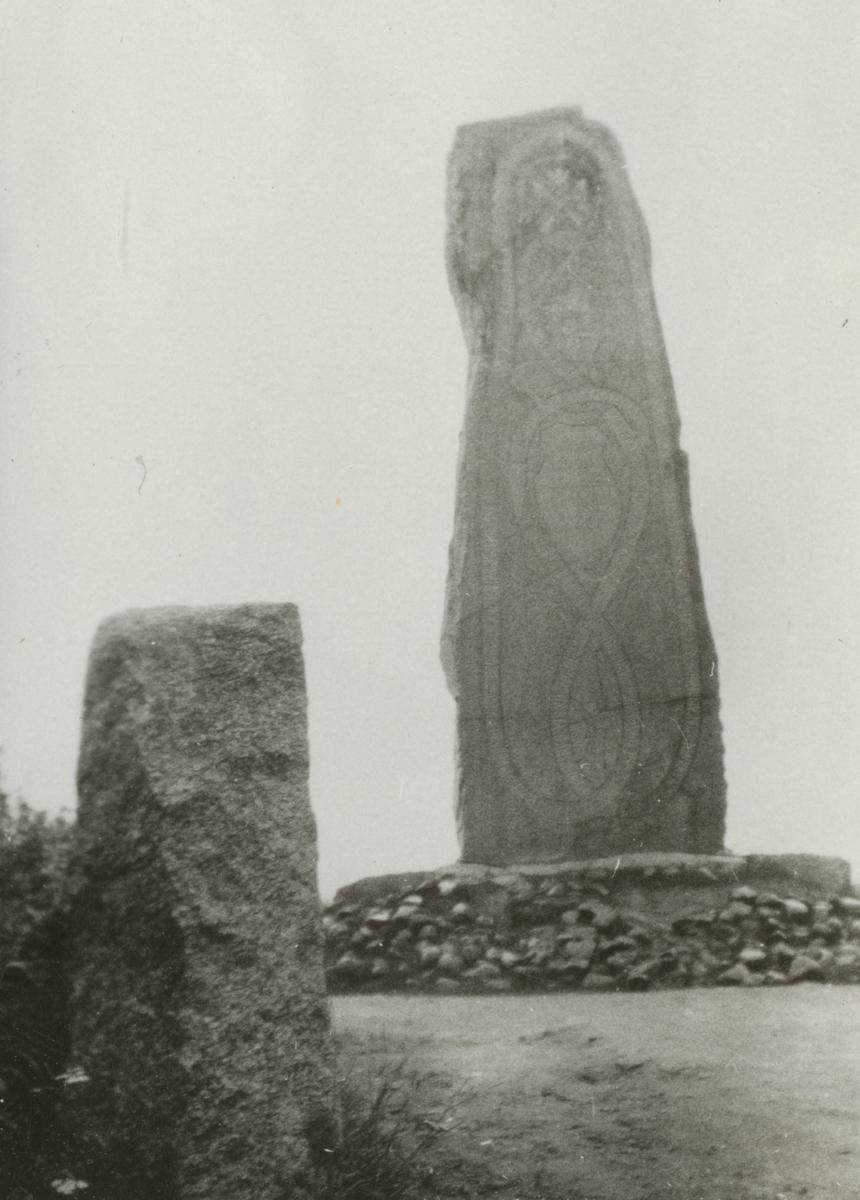 Monument vid övningsplats Rommehed.