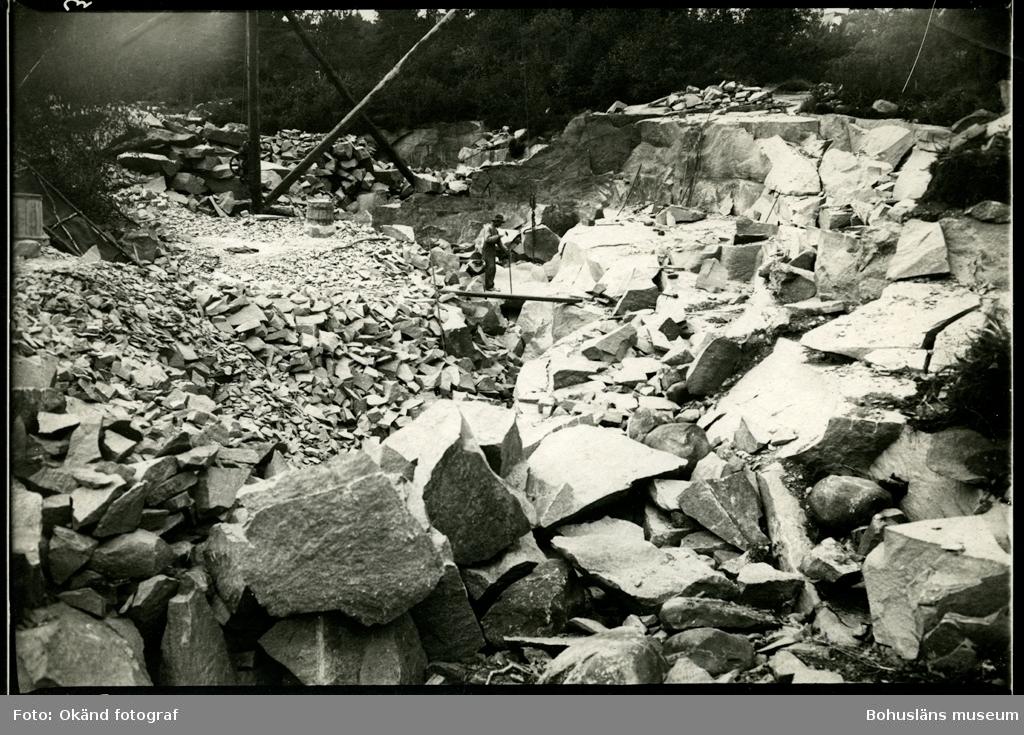 Arbete i stenbrottet