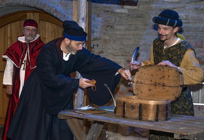 Avlatshandelen var på topp tidlig på 1500-tallet.