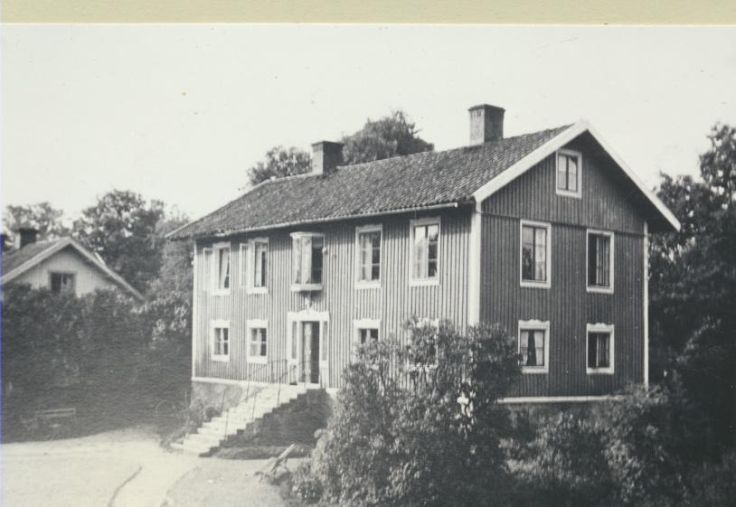 Karlsborg 1940-tal. Forsvik.