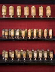 Samling av fröprover från 1866 och 1896 bevarade i samtida g