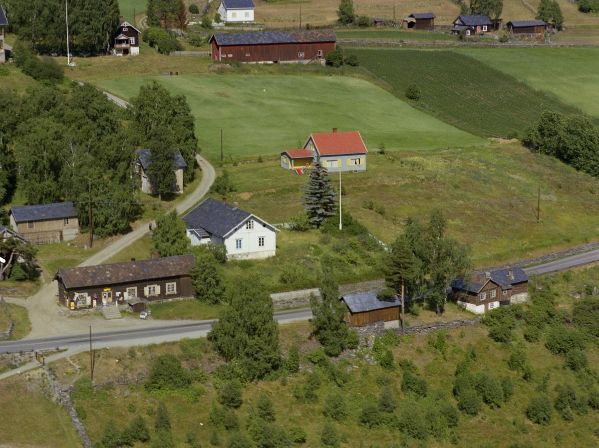 Sør-Fron, Hundorp. Lillehove landhandleri, gammelt lavt hus. Gårdsbruket Lillehove er også nevnt som Hove Øvre.