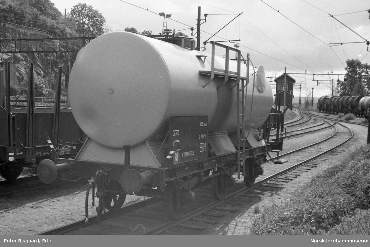 NSB tankvogn litra Q nr. 73028