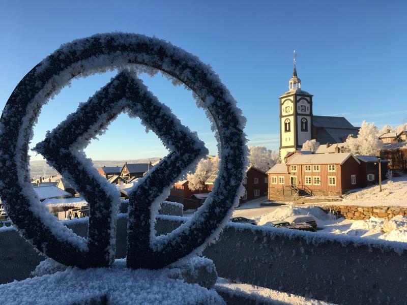 Verdensarv i vintersol (Foto/Photo)