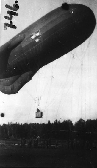 Fältballong, Ing 3. Tysk ballong, typ Ae.