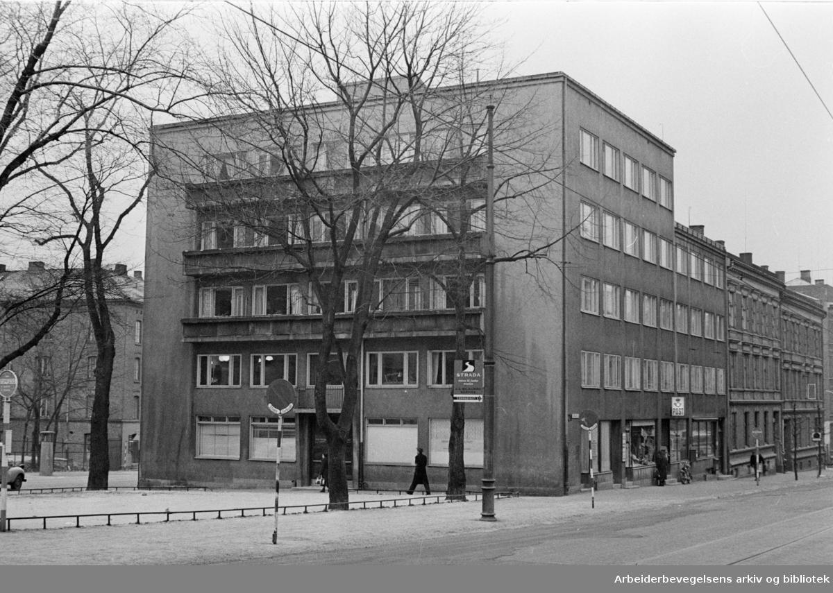Trondheimsveien 21. Januar1962