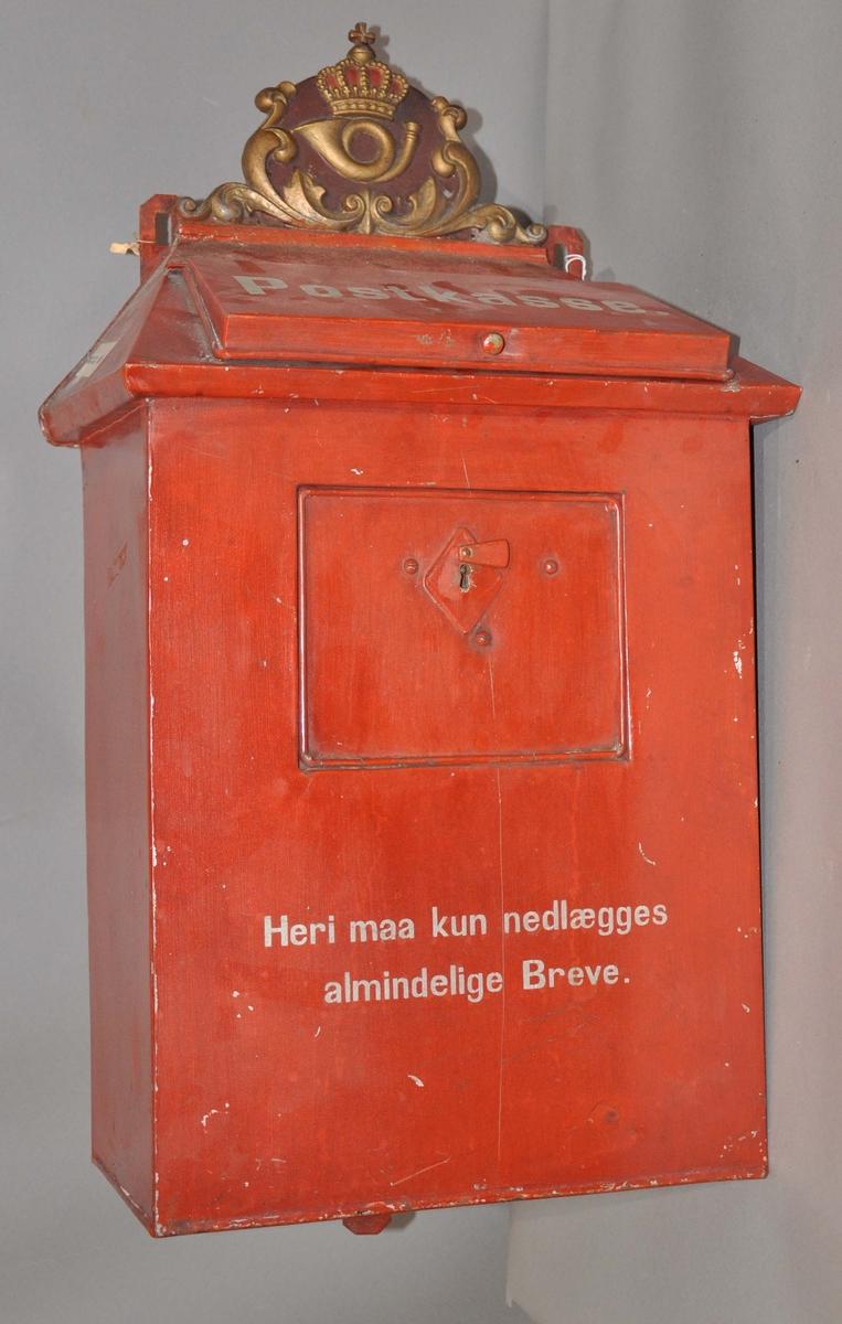 Tømmepostkasse