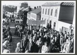 Jubileumsstevne for Arbeiderpartiets 60-årsjubileum, Kristia