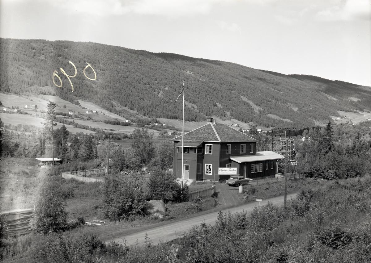 Wistelund turistheim, Røn.