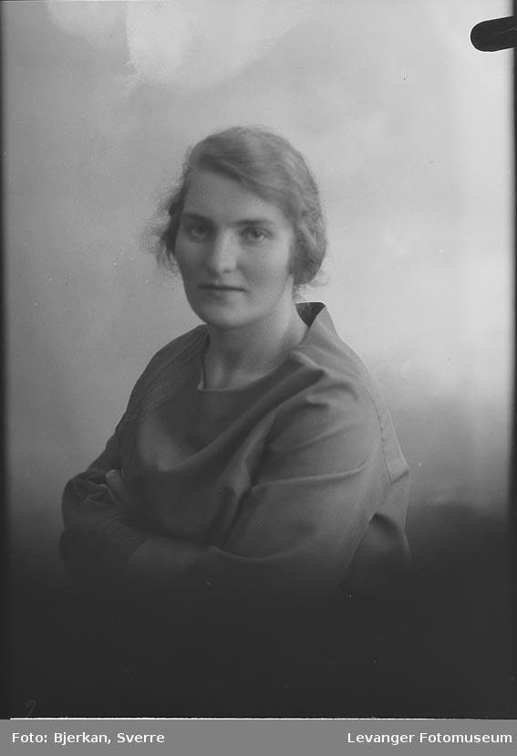 Portrett av Klara Johansen