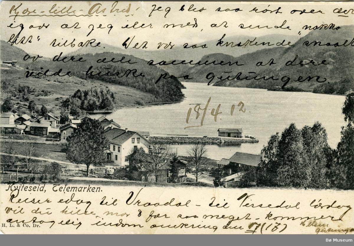 Kviteseid, Telemarken