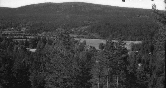 Utsikt från berg