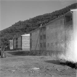 Boligbygging i Mosjøen, Skjervengan og bygging på Jernbaneka