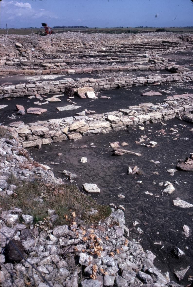Eketorp under utgrävning