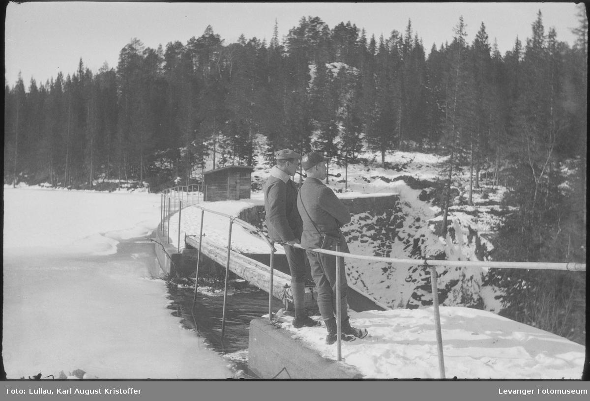På tur til Tvårråsjøen  vannmagasin for Langåsfoss kraftverk.