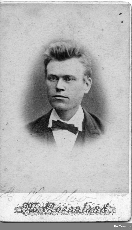 Portrett av G. Nordbø