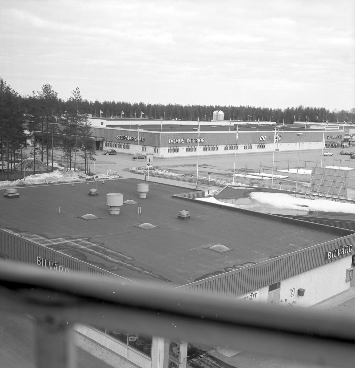 Valbo Köpcentrum, den 15 mars 1973 Beställt av Konsum Alfa, Herr Sigmundsson