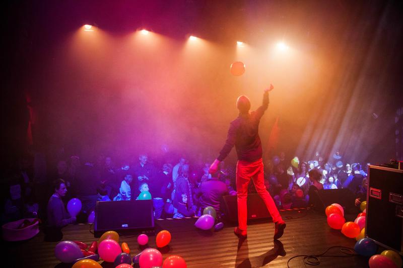 Bli med på disco i konsertsalen! Foto: Rikke Sørlie Langø