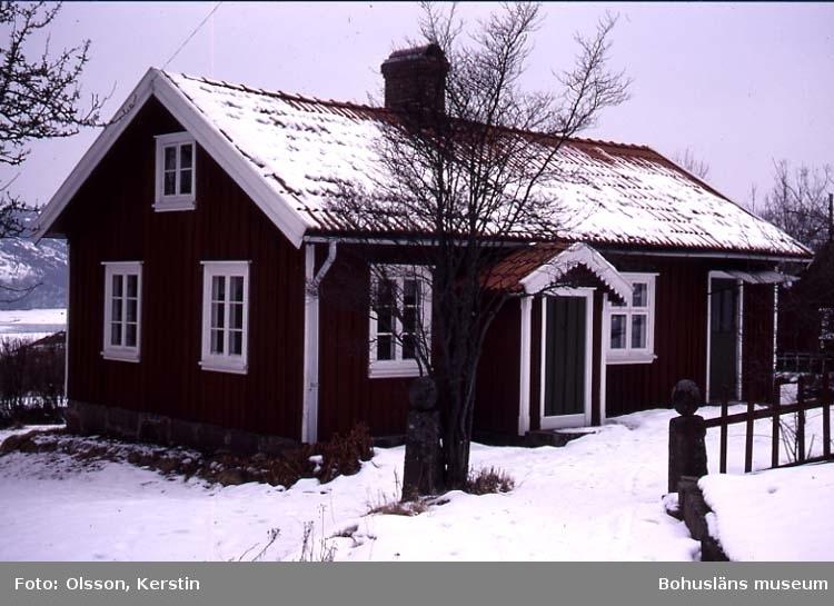 """Text på kortet: """"DH förlängt Tuntorp Sandvik Brastad sn. Mars 1987""""."""